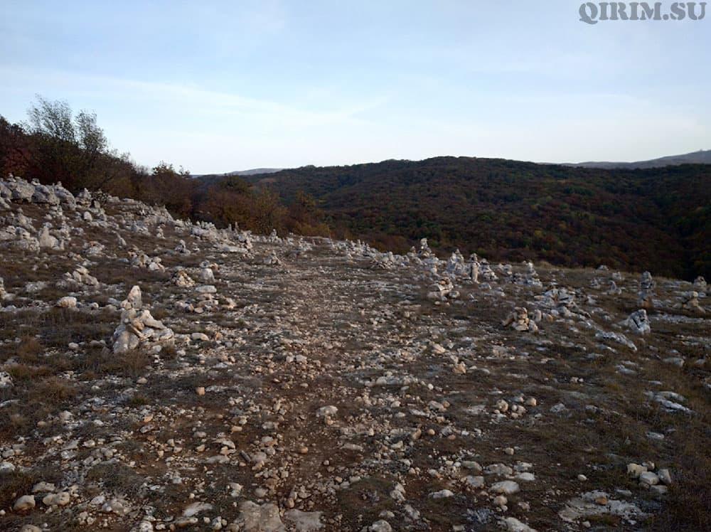 Каменные человечки гора Бойко