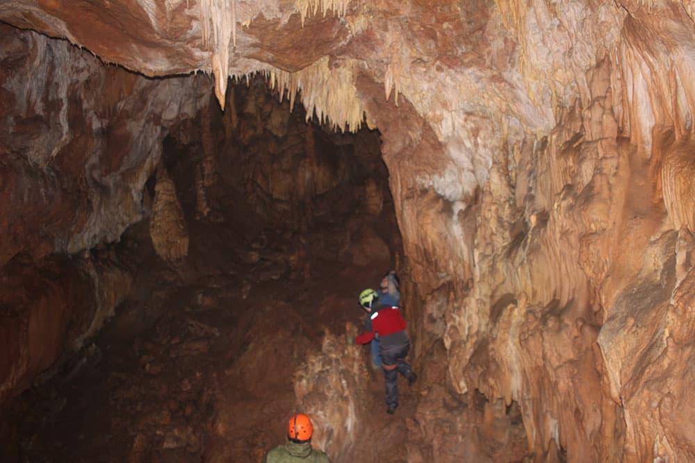 пещера МАН внутри 1