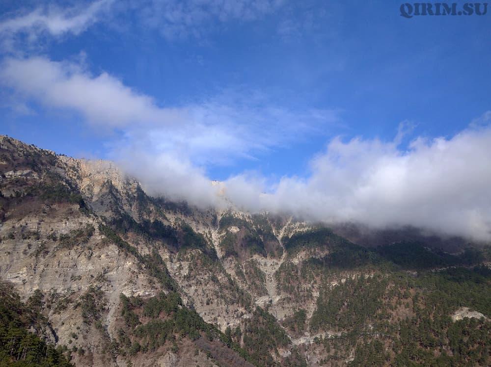 Боткинская тропа вид на горы