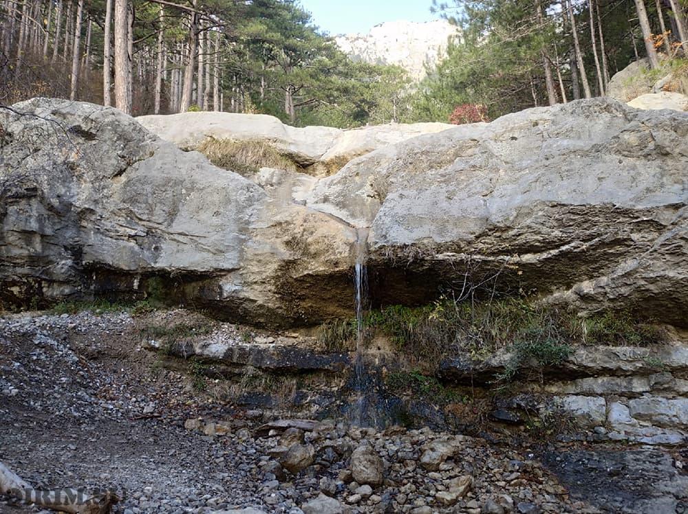 Боткинская тропа водопад