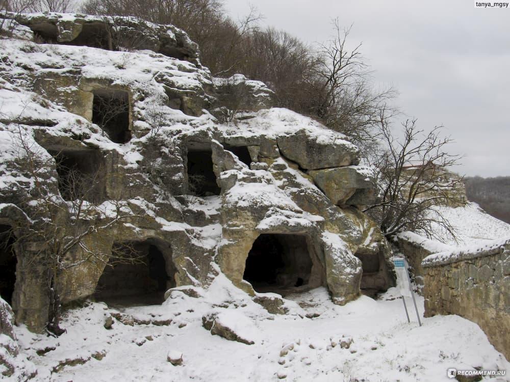 Чуфут-кале зимой