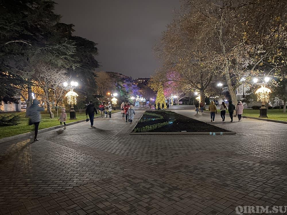 Как украсили Севастополь на Новый год 2021 2