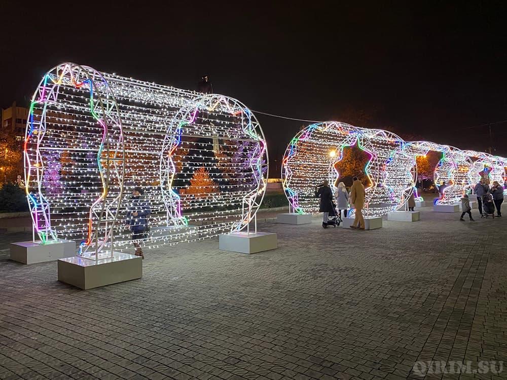 Как украсили Севастополь на Новый год 2021 4