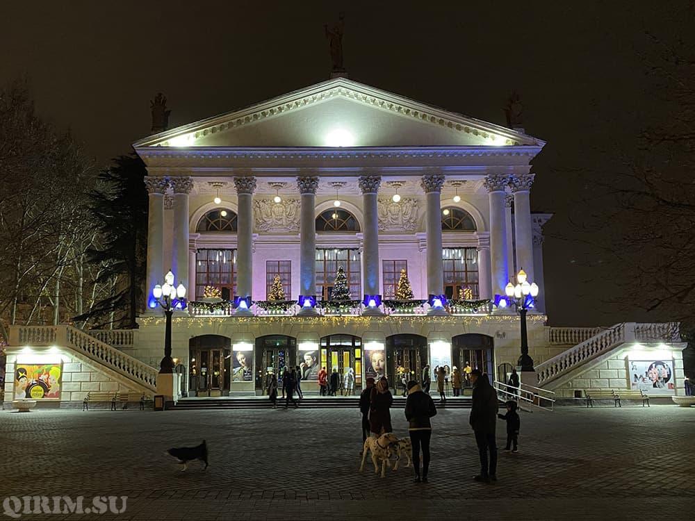Как украсили Севастополь на Новый год 2021 6