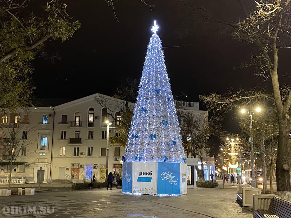 Как украсили Севастополь на Новый год 2021 7
