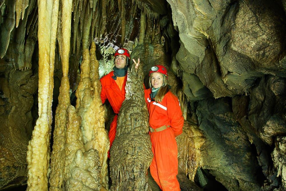 Красная пещера дальняя часть экскурсии 2