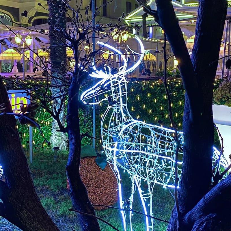 Новогодние украшения в Ялте 10