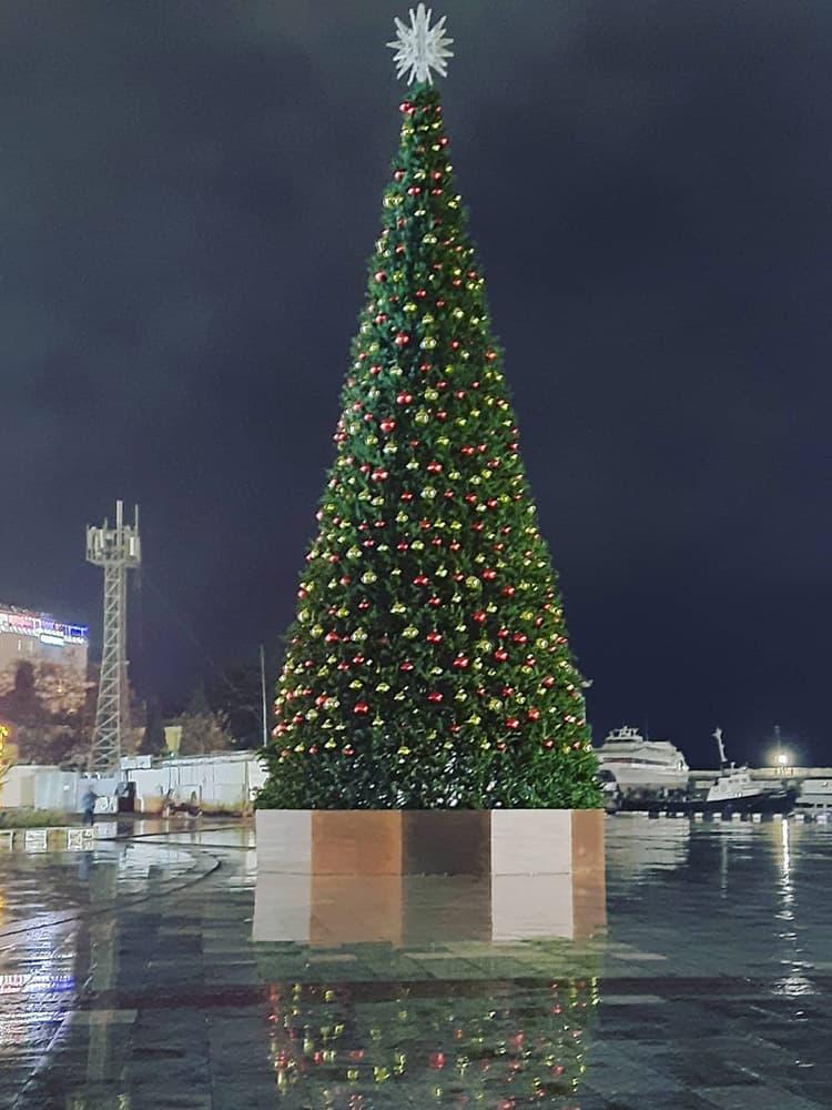 Новогодняя елка 2021 года 1