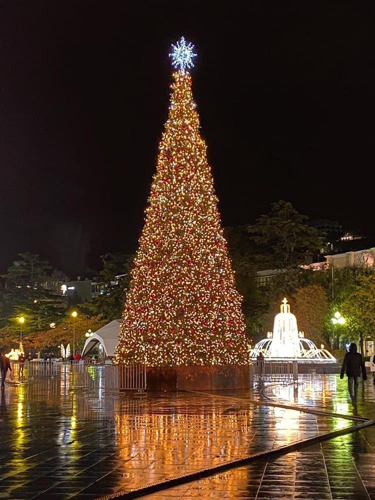 Новогодняя елка 2021 года 4