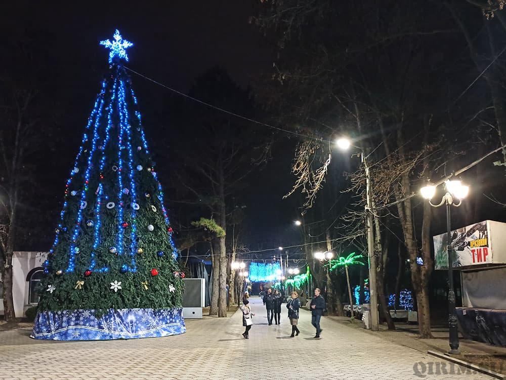 Новогодняя елка 2021 в Детском парке