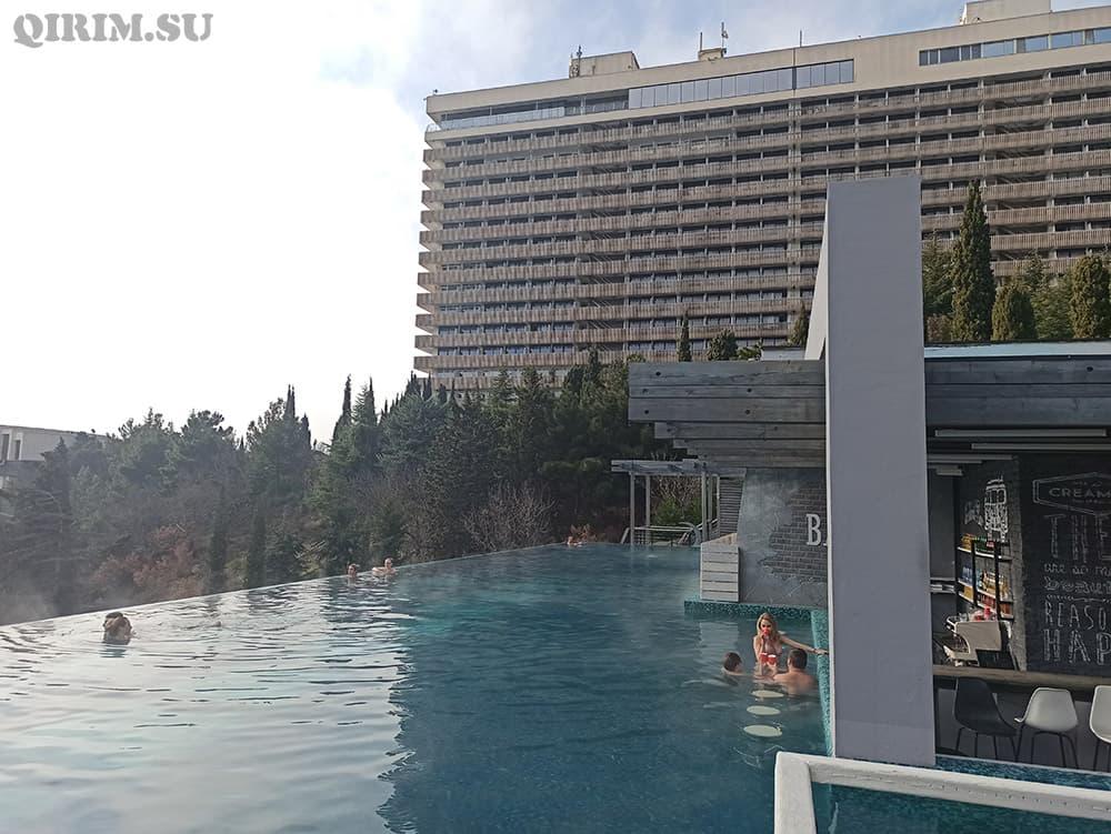 Отдых в отеле Ялта-Интурист зимой
