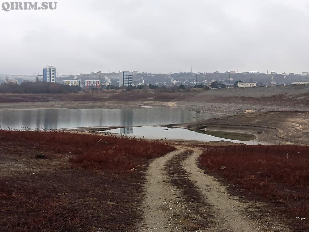 Симферопольское водохранилище 14 янв 2021 год