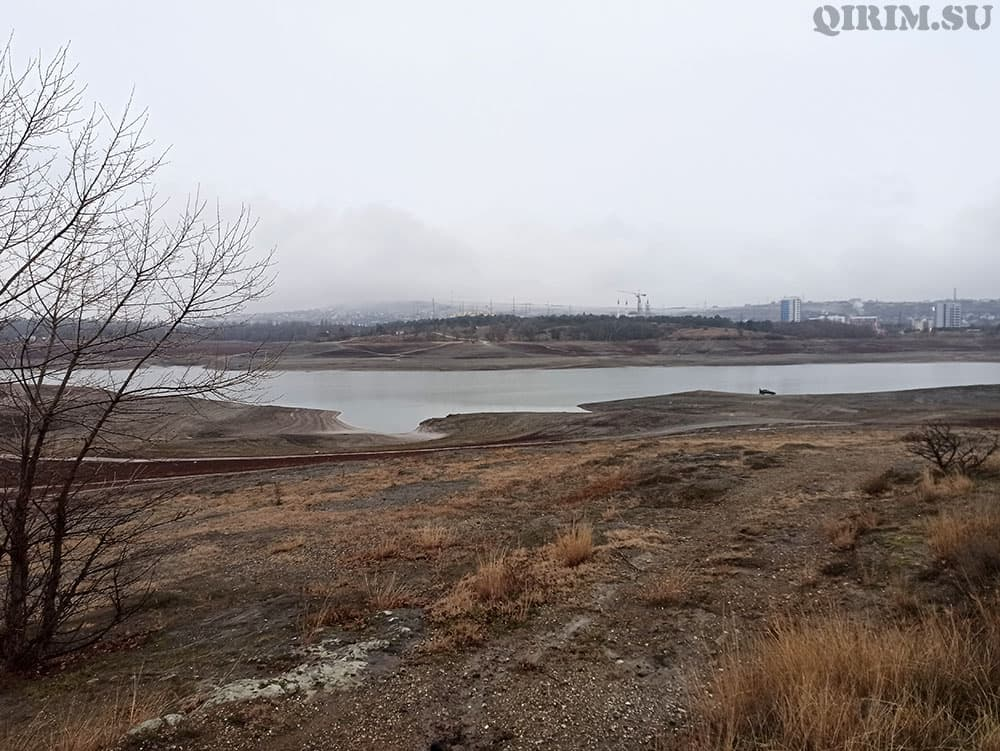 Симферопольское водохранилище 14 янв 2021