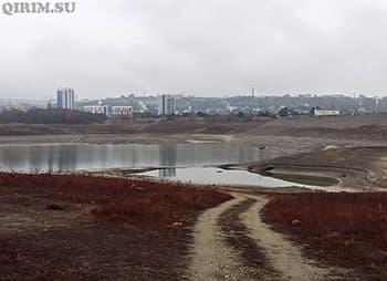 Симферопольское водохранилище 14 января миниатюра