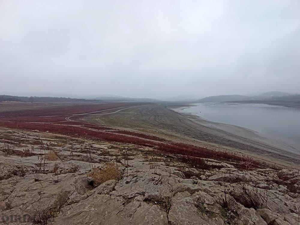 Симферопольское водохранилище зима 2021 год январь