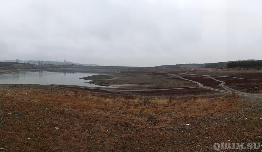водохринилище в Симферопольское 14 января 2021