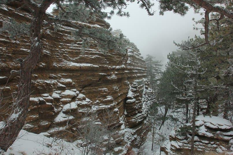 Таракташская тропа зимой