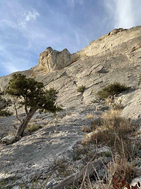 гора Сокол подъем для альпиниста 2