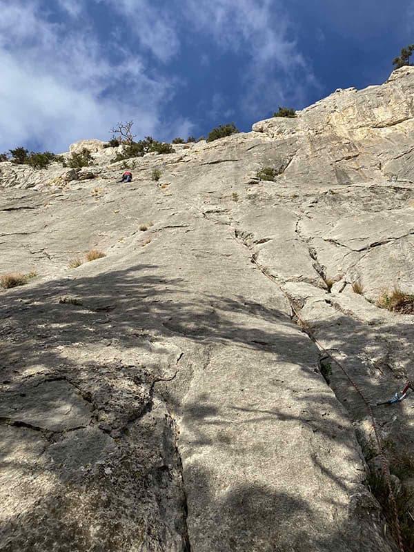 гора Сокол подъем для альпиниста