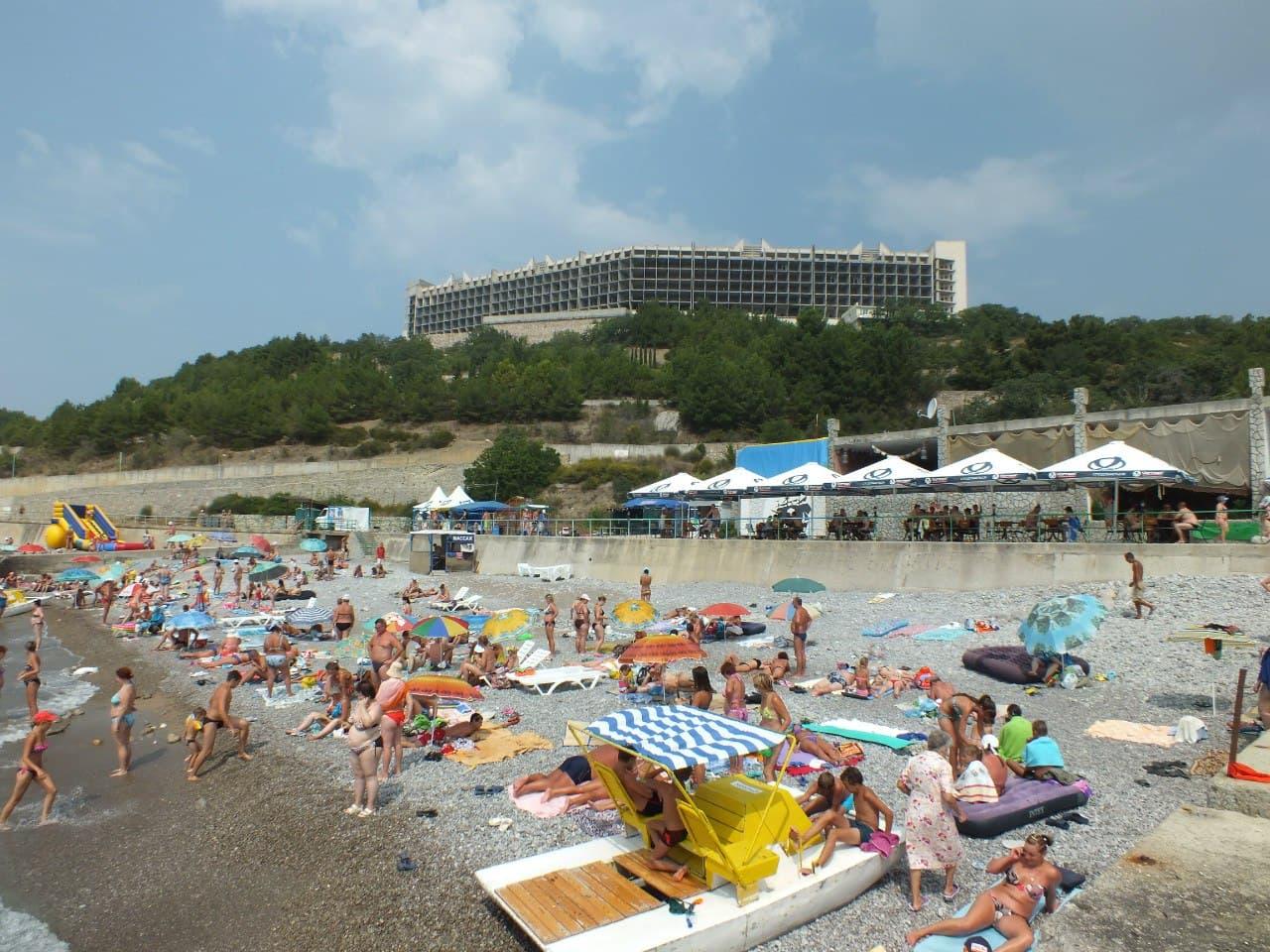 Кацивели пляж 2