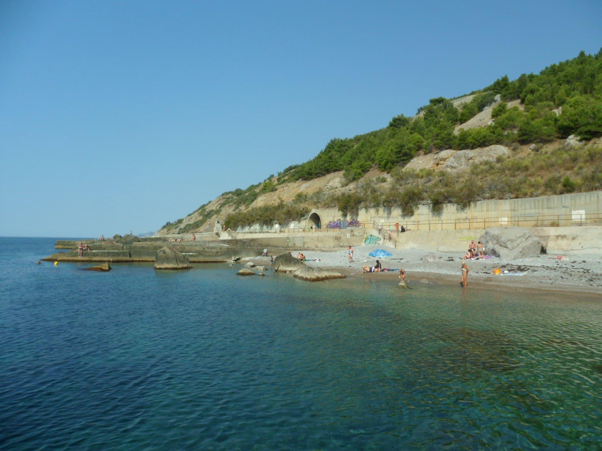 Кацивели пляж