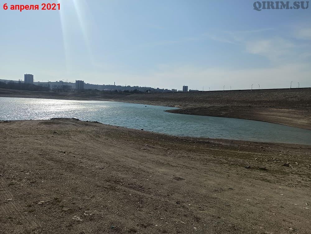 Симферопольское водохранилище дамба 6 апреля