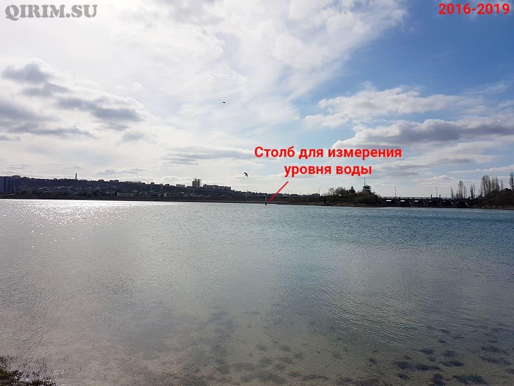 Симферопольское водохранилище дамба до 2019г