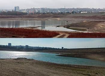 Симферопольское водохранилище сегодня