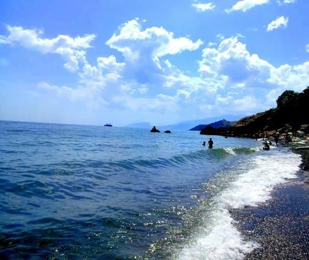 Малореченское Крым море