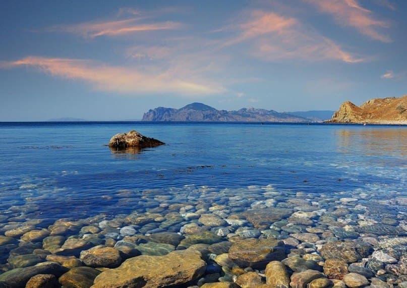 прозрачное море Орджоникидзе