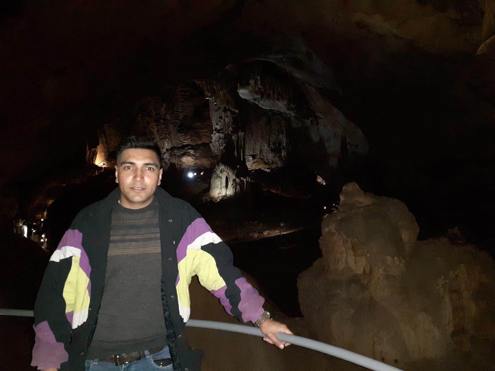 Билял в Мамонтовой пещере