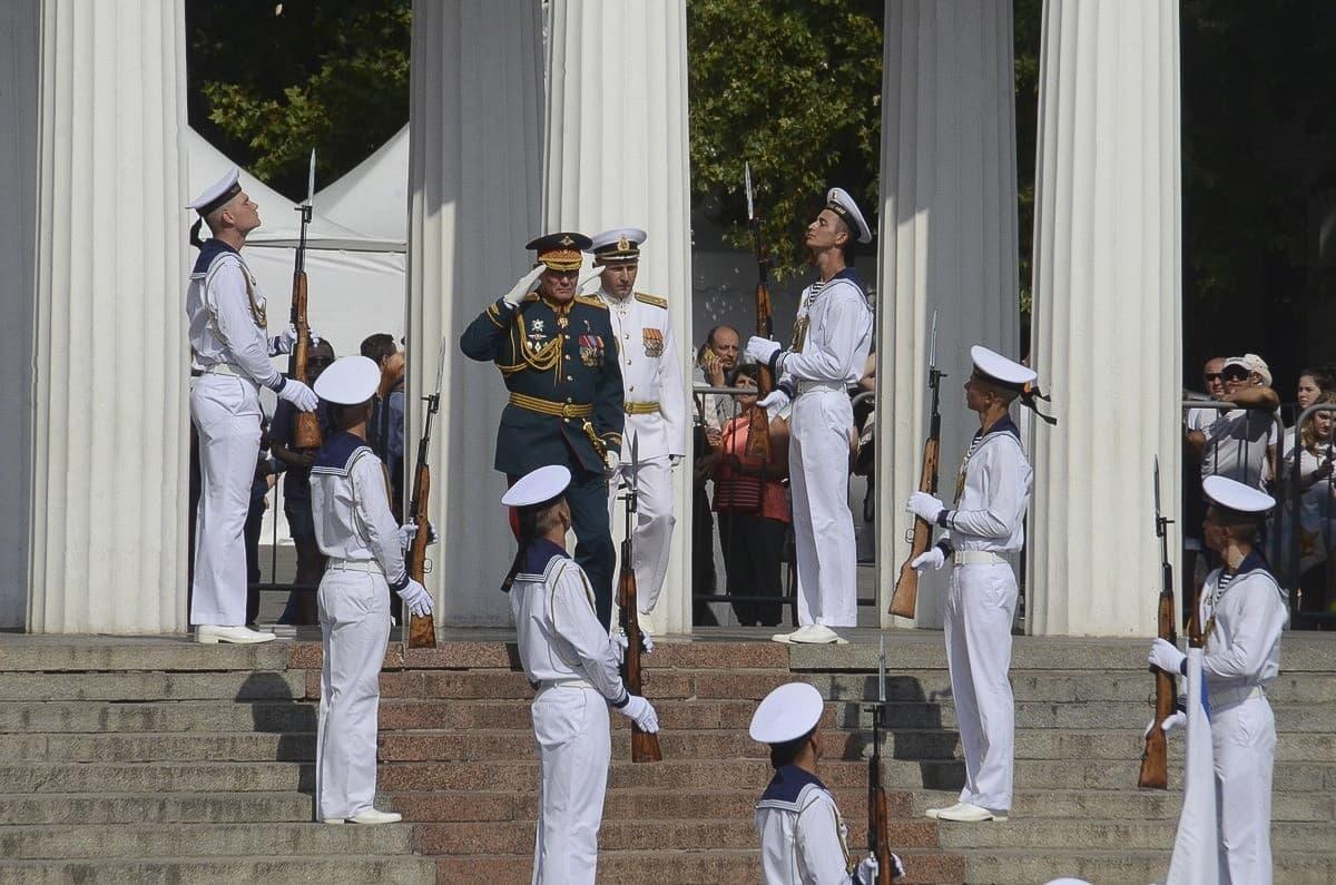 День ВМФ Графская пристань адмирал