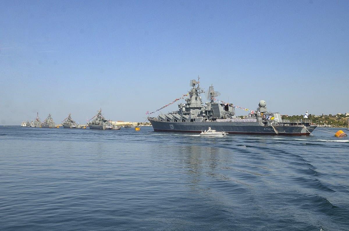 День ВМФ воинское приветствие парад военных кораблей