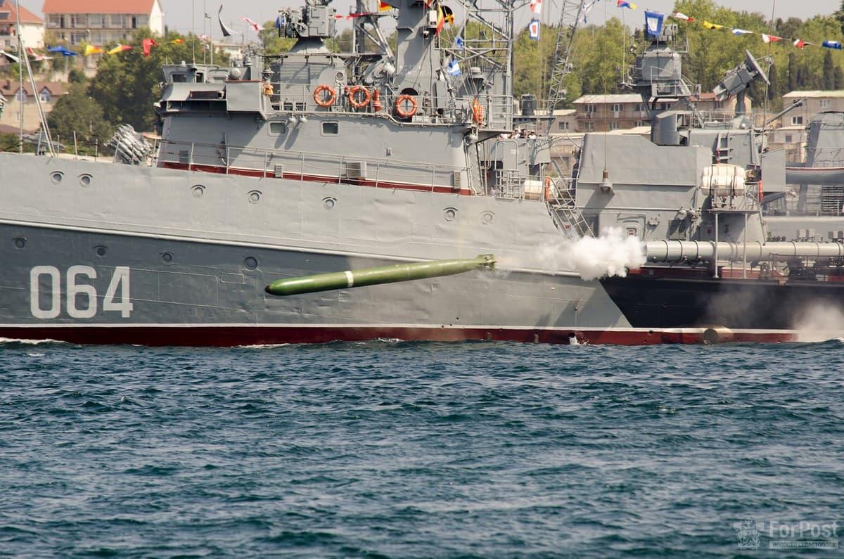 День ВМФ выстрел с артиллерии