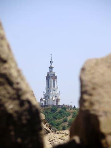 Храм маяк Алушта
