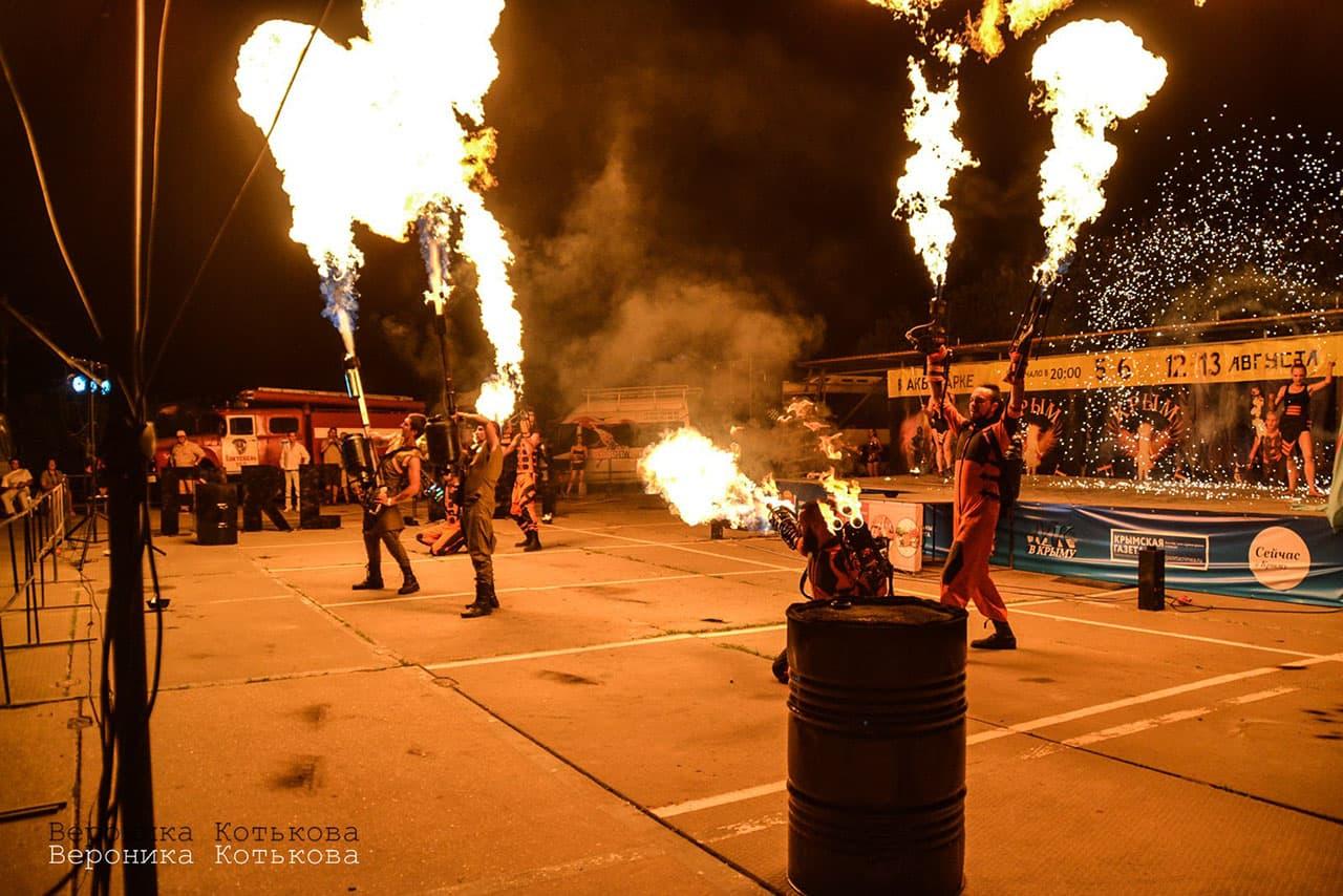 огненное шоу FireFest