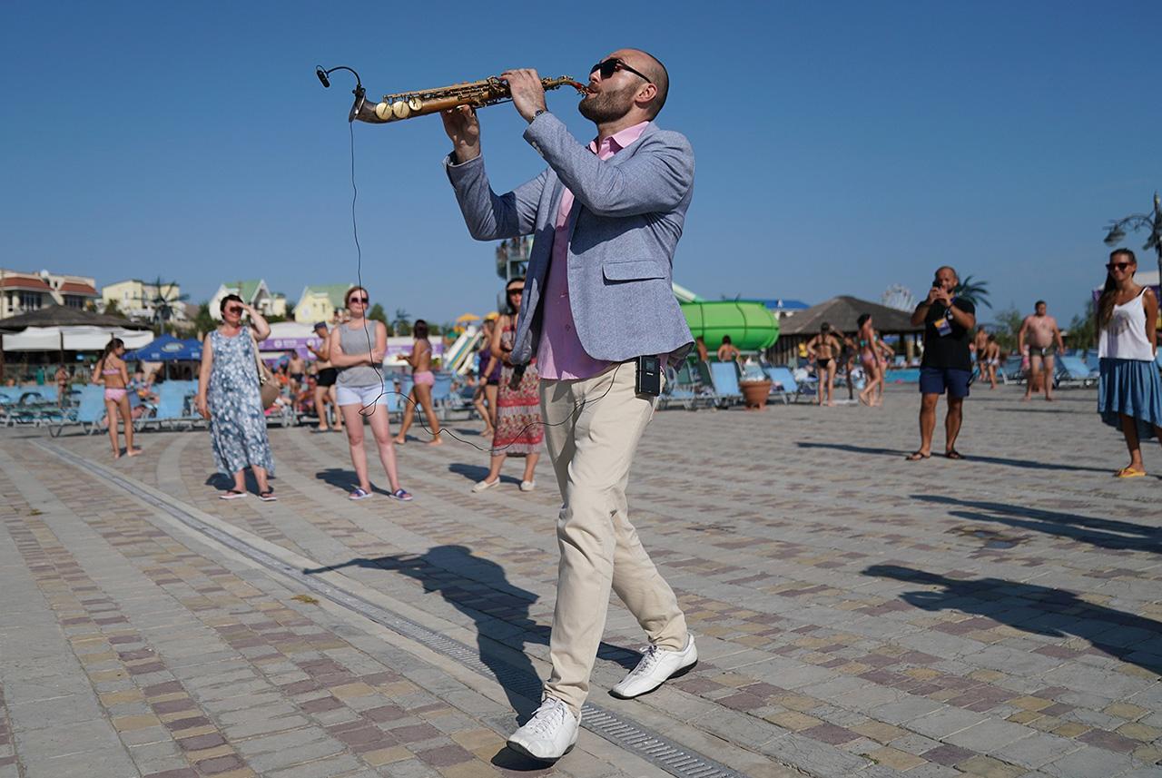 Джазовый фестиваль на аквапарке