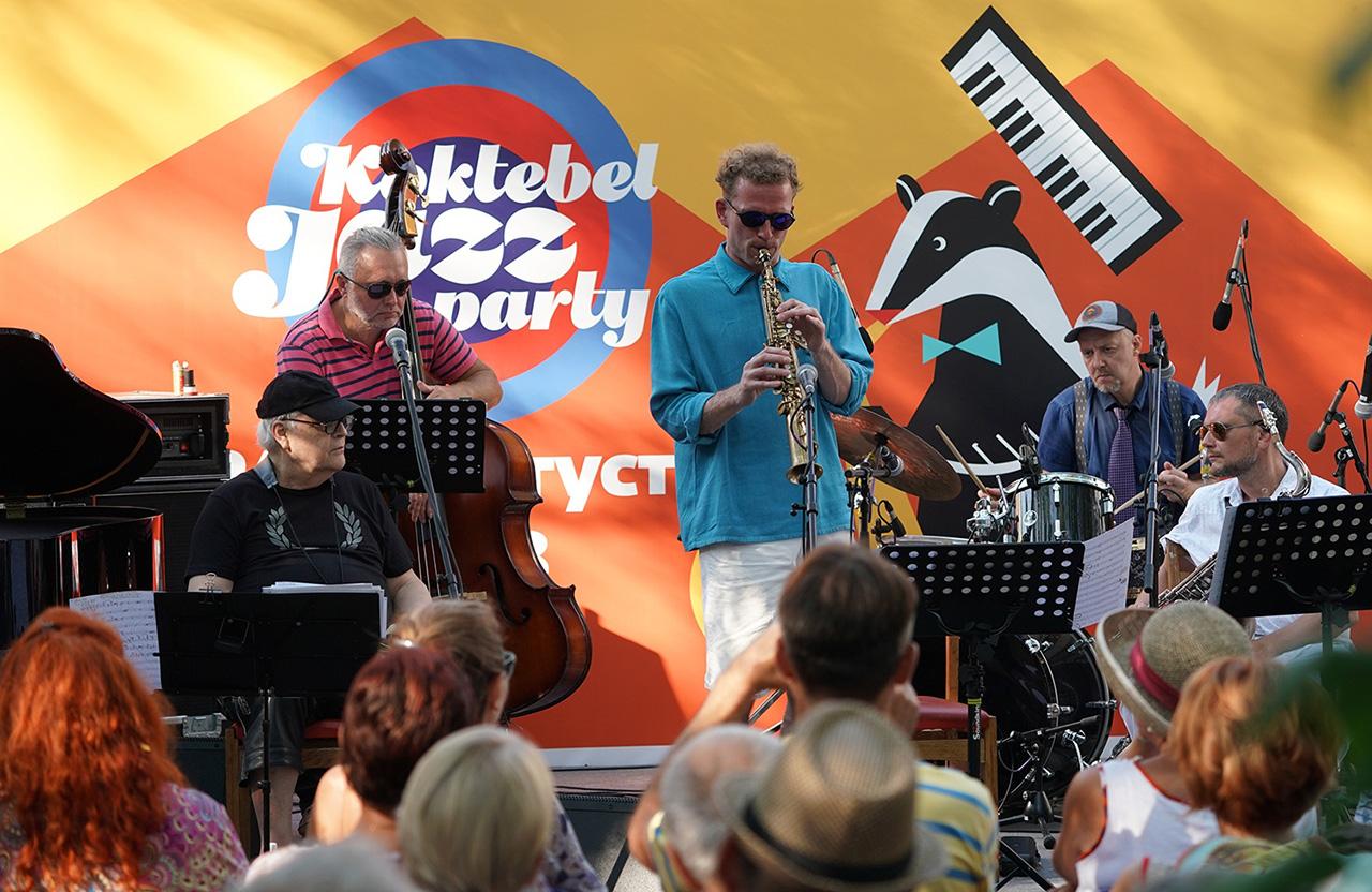 Джазовый фестиваль в Коктебелелетняя площадка