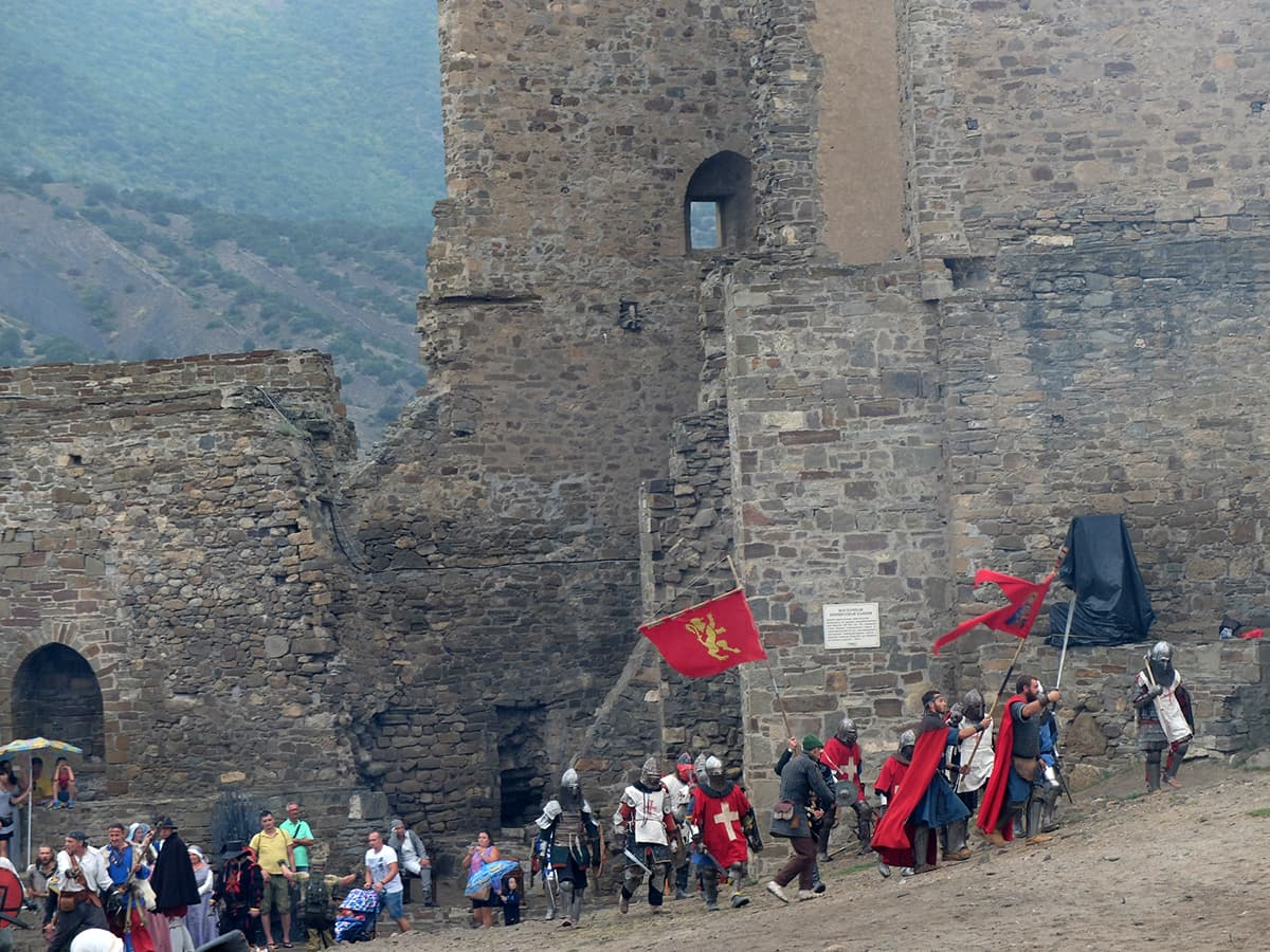 фестиваль Генуэзский шлем 2021 в Судаке