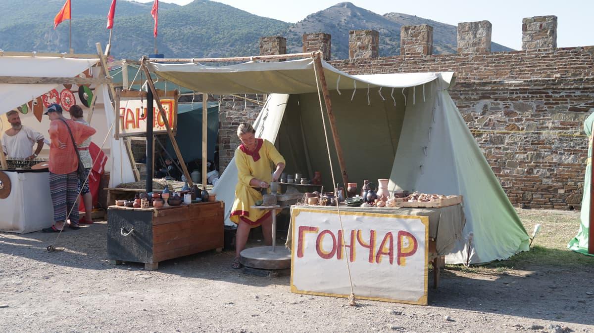 Гончар в городе мастеров Генуэзский шлем