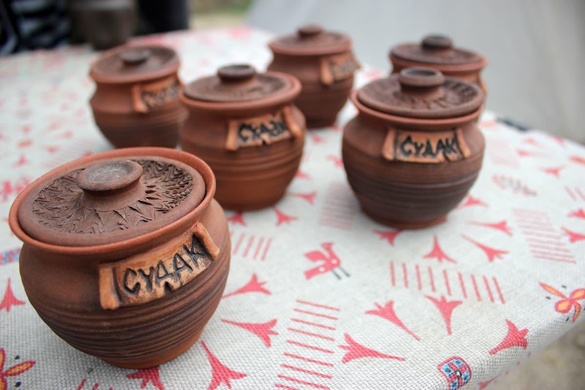Город мастеров глиняные вазы