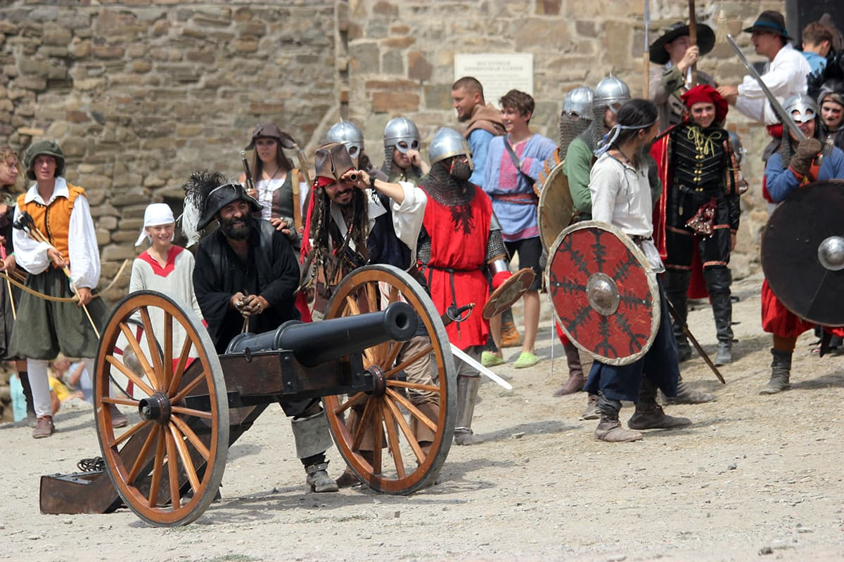 пушки Генуэзский шлем