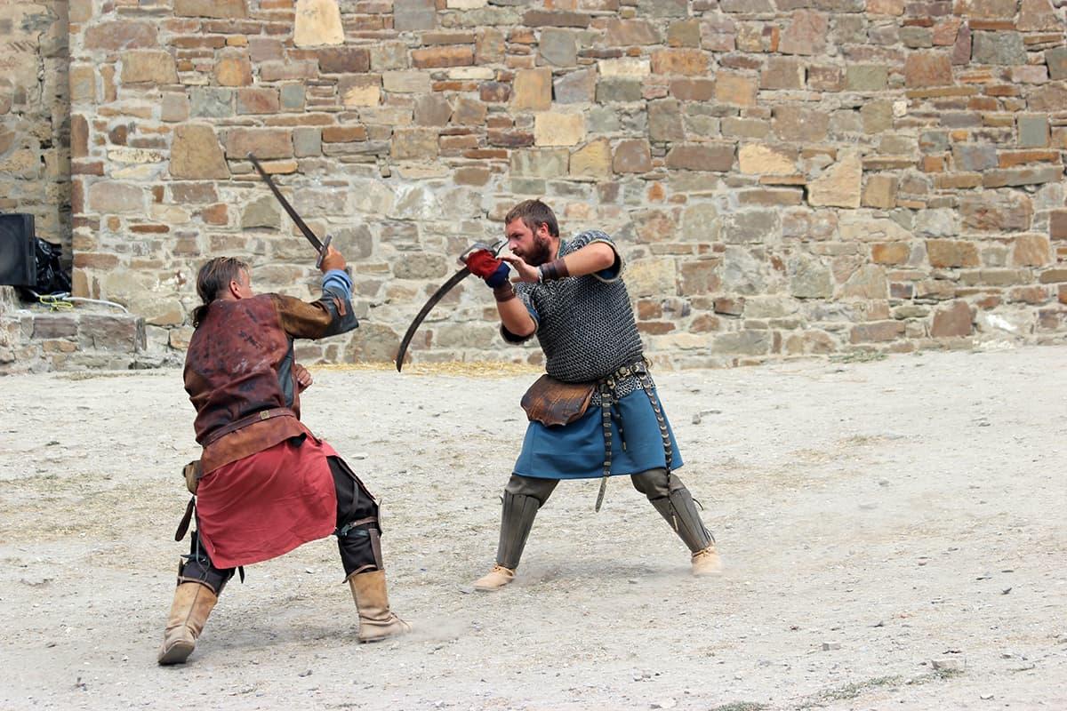 Рыцарские турниры фестиваль Генуэщский шлем