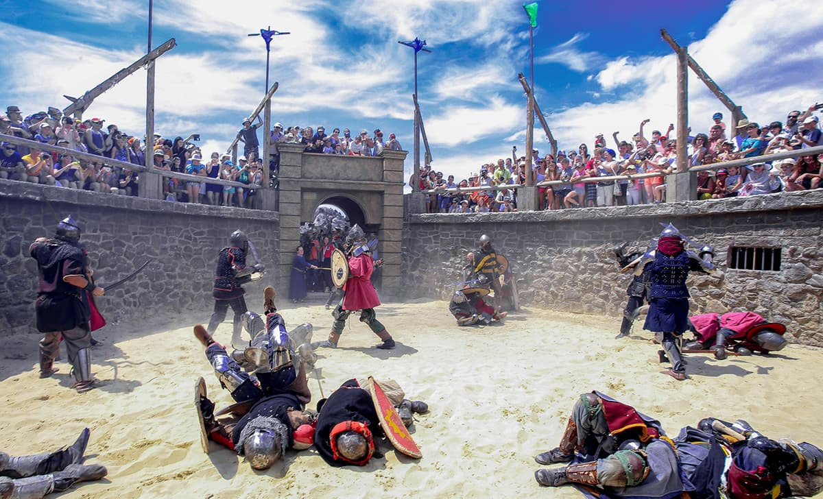 Захват замка Генуэзский шлем