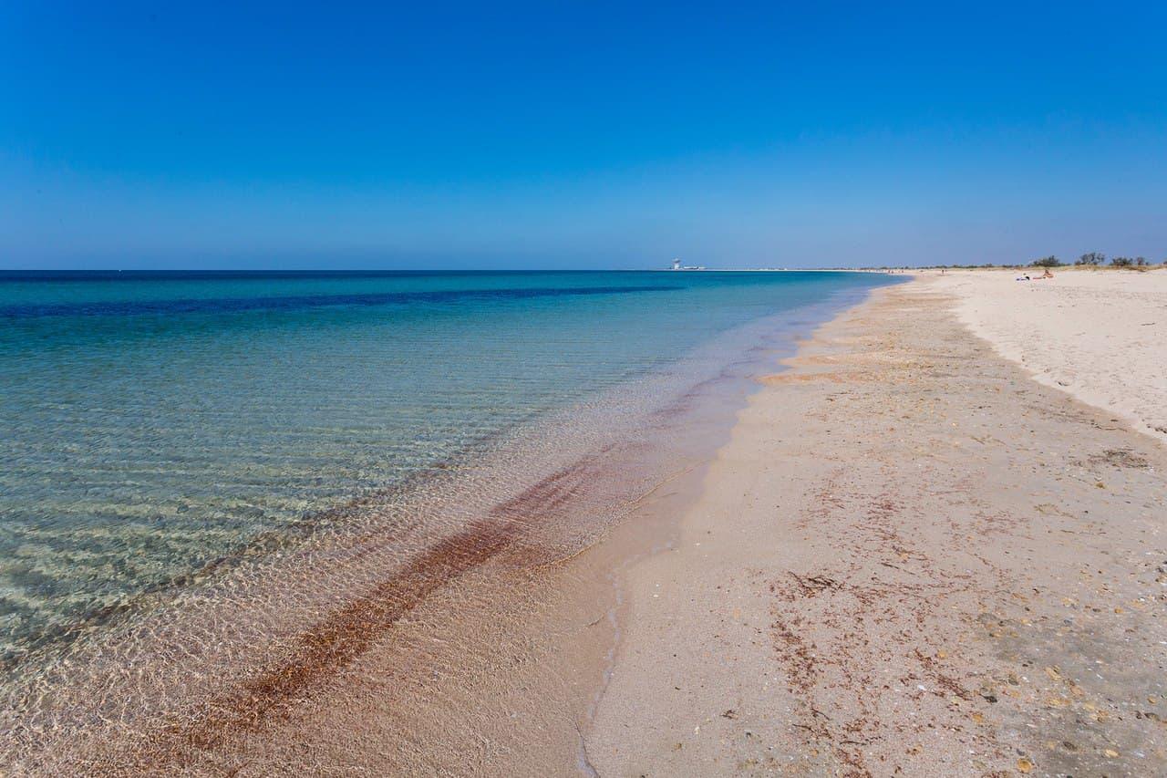 Чистое море Заозерное