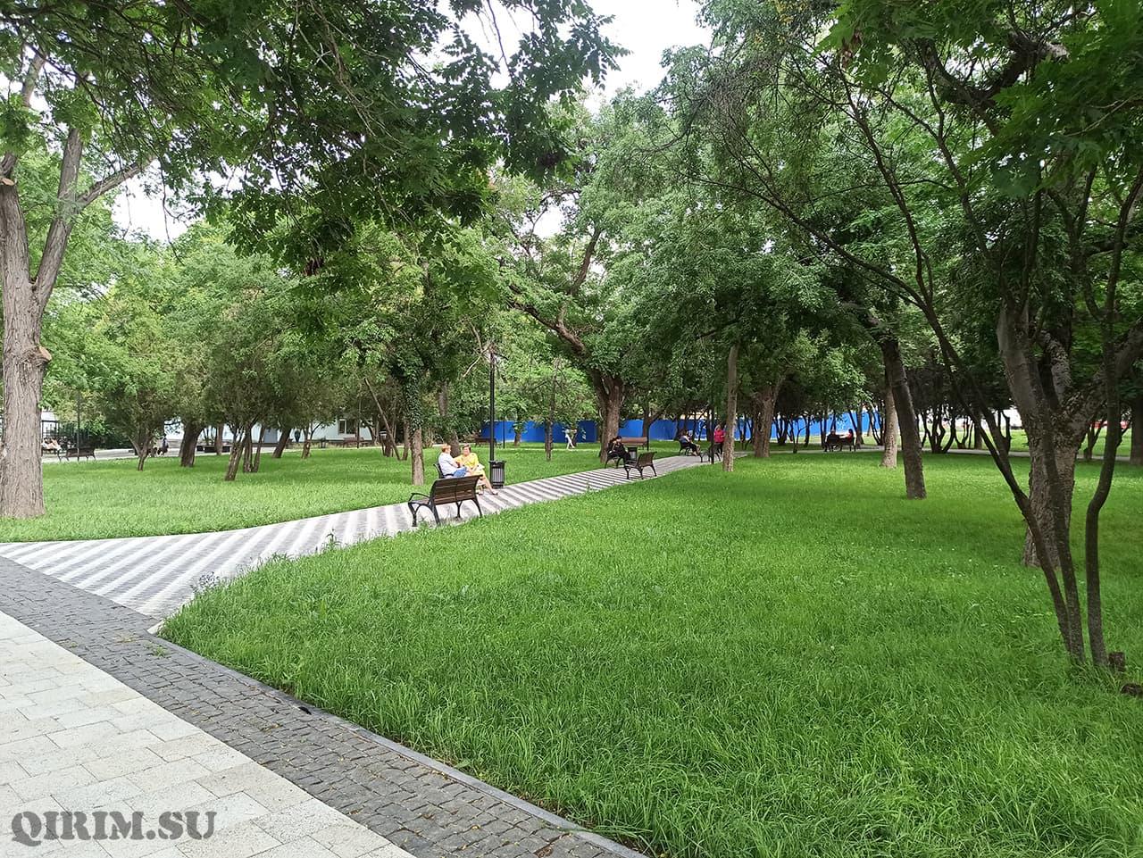 Екатерининский парк Симферополь
