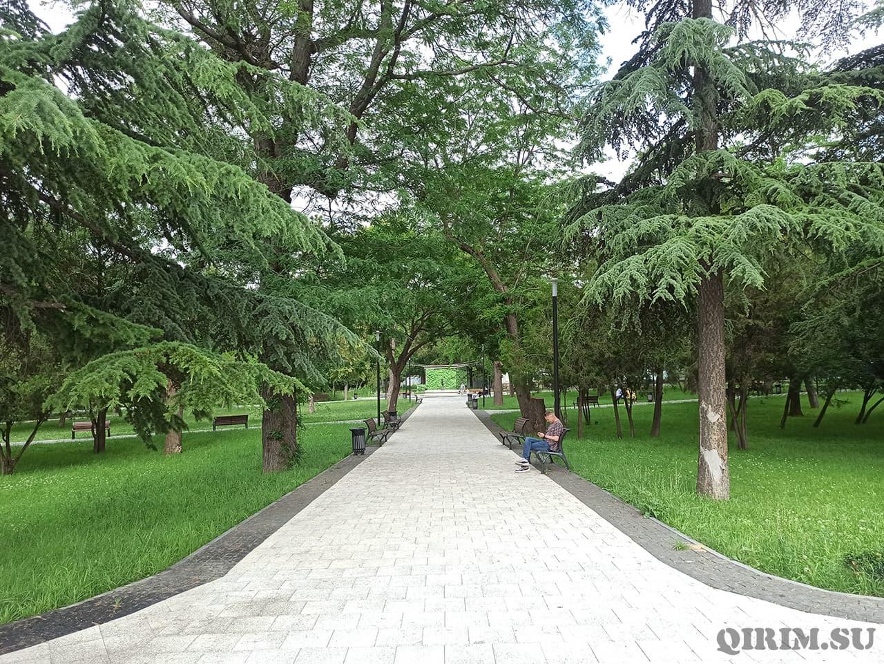 Екатерининский сад Симферополь