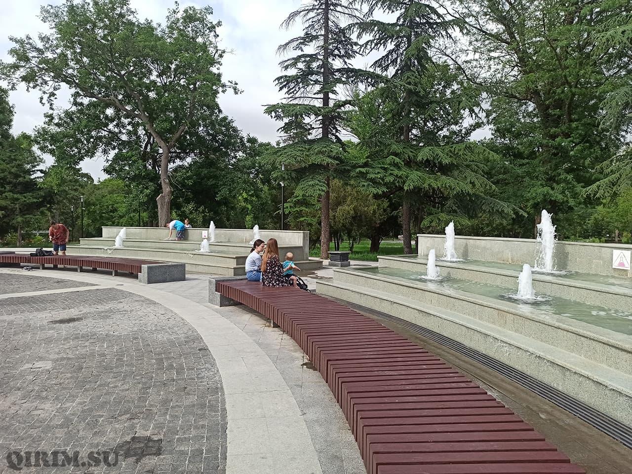 фонтаны на Екатерининском парке