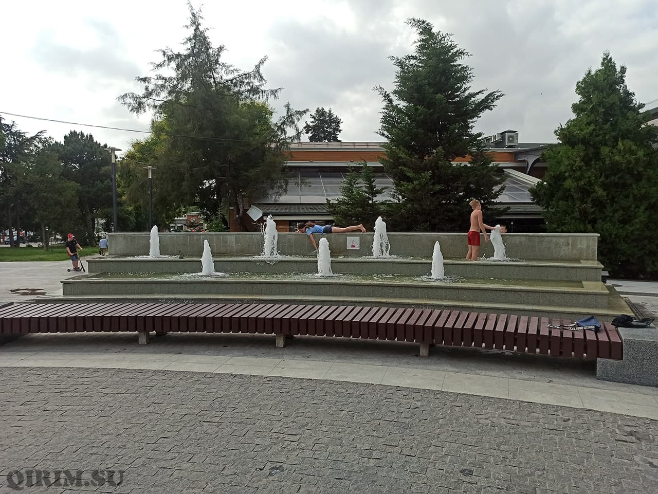 Фонтаны на Екатерининском саду
