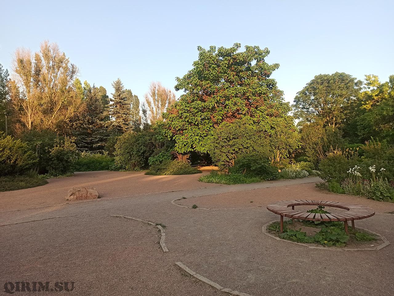 Ботанический сад в Симферополе